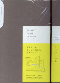 SUNNY NOTE for business ash brown ([バラエティ])