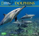 National Geographic Dolphins 2018 Wall Calendar