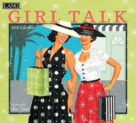 Girl Talk 2018 Wall Calendar