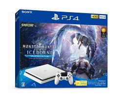 """PlayStation4 """"モンスターハンターワールド:アイスボーン マスターエディション"""" Starter Pack White"""
