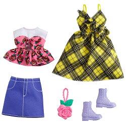 バービー(Barbie) ファッション2パック ローズ&イエロー GRC83 【専用収納ケース付き】