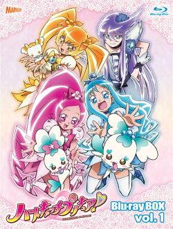 ハートキャッチプリキュア!Blu-ray BOX Vol.1(完全初回生産限定)【Blu-ray】