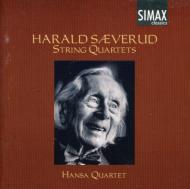 【輸入盤】String Quartet.1, 2, 3: Hansa Q [ セーヴェルー ]