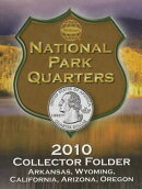 National Park Quarters Collector Folder: Arkansas, Qyoming, California, Arizona, Oregon