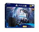 """PlayStation4 Pro """"モンスターハンターワールド:アイスボーン マスターエディション"""" Starter Pack"""