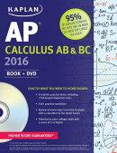 Kaplan AP Calculus AB & BC 2016: Book + DVD