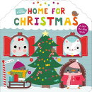 Little Friends: Home for Christmas: A Lift-The-Flap Book