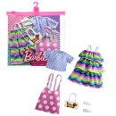 バービー(Barbie) ファッション2パック ドット&ボーダー GRC87 【専用収納ケース付き】