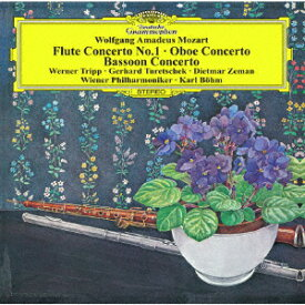 モーツァルト:フルート協奏曲第1番、オーボエ協奏曲、ファゴット協奏曲 [ ウィーン・フィルハーモニー管弦楽団 ]