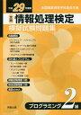 全商情報処理検定模擬試験問題集プログラミング2級(平成29年度版) 全国商業高等学校協会主催 [ 実教出版編修部 ]