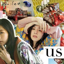 us (初回限定盤 CD+DVD) [ milet ]