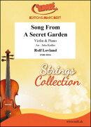 【輸入楽譜】ラヴランド, Rolf: Song from A Secret Garden/バイオリンとピアノ用編曲/Kadlec編