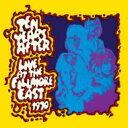【輸入盤】Live At The Fillmore East [ Ten Years After ]