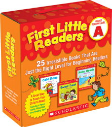 First Little Readers: Guided Reading Level A: 25 Irresistible Books That Are Just the Right Level fo