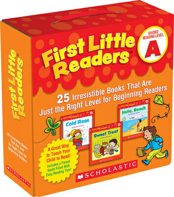 First Little Readers: Guided Reading Level A: 25 Irresistible Books That Are Just the Right Level fo BOXED-1ST LIT RDRS G-25V GRLA [ Deborah Schecter ]