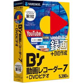B's 動画レコーダー 7+DVDビデオ