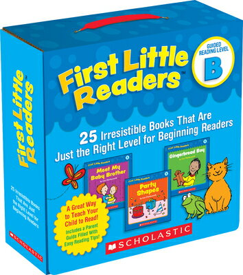 First Little Readers: Guided Reading Level B: 25 Irresistible Books That Are Just the Right Level fo BOXED-1ST LIT RDRS G-25V GRLB [ Liza Charlesworth ]