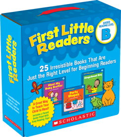 First Little Readers: Guided Reading Level B: 25 Irresistible Books That Are Just the Right Level fo BOXED-1ST LITTLE READERS G 25V [ Liza Charlesworth ]