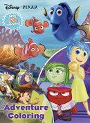 Disney Pixar Adventure Coloring: With 50 Stickers!