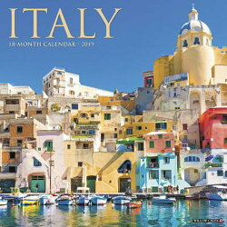Italy 2019 Wall Calendar