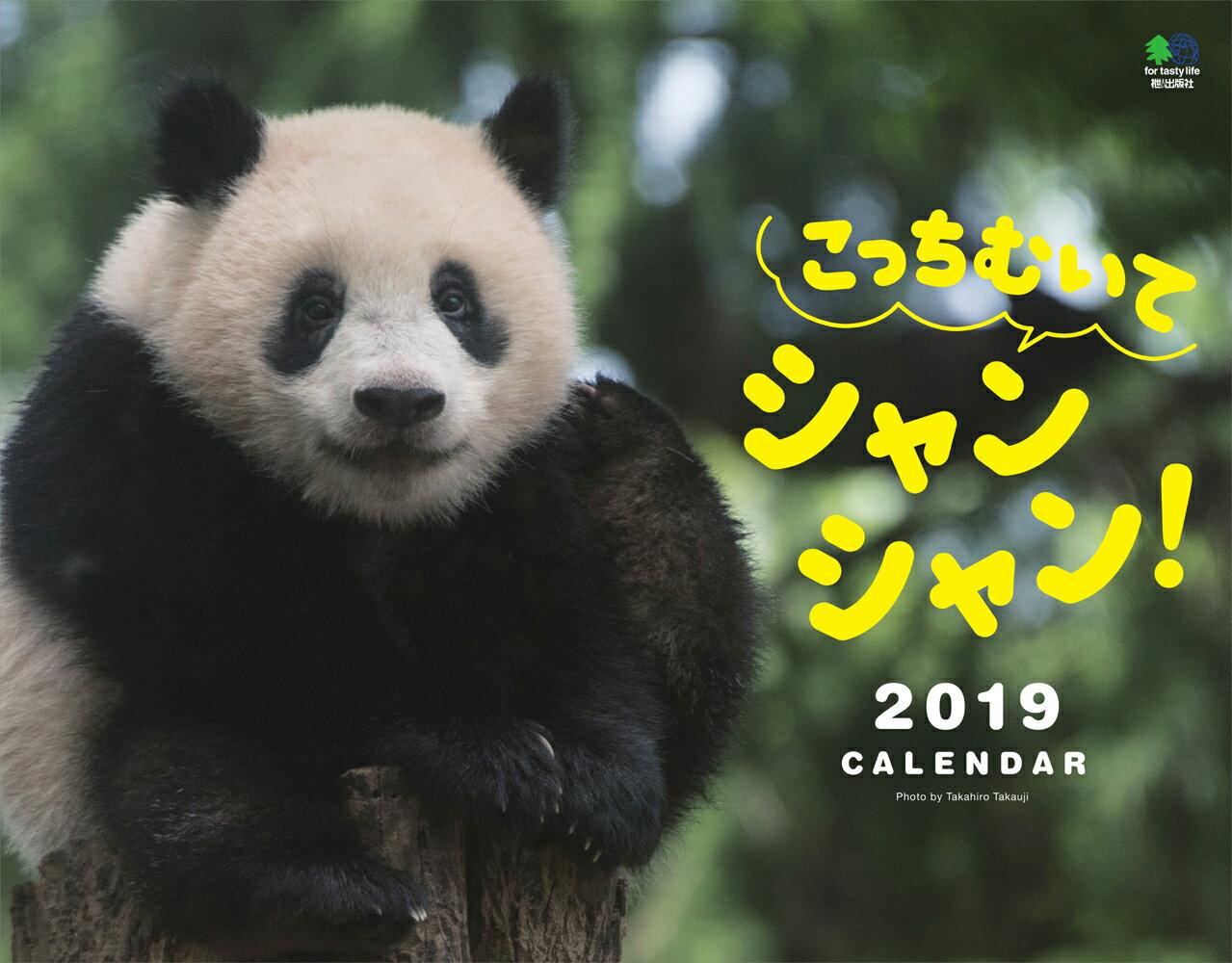 こっちむいてシャンシャン!カレンダー 壁掛け(2019) [ 高氏貴博 ]