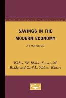 Savings in the Modern Economy