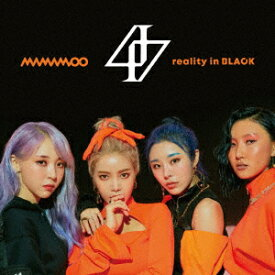 reality in BLACK-Japanese Edition-(初回限定盤A) [ MAMAMOO ]