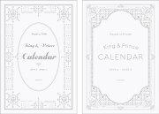 【予約】King & Princeカレンダー2019.4→2020.3 Johnnys' Official