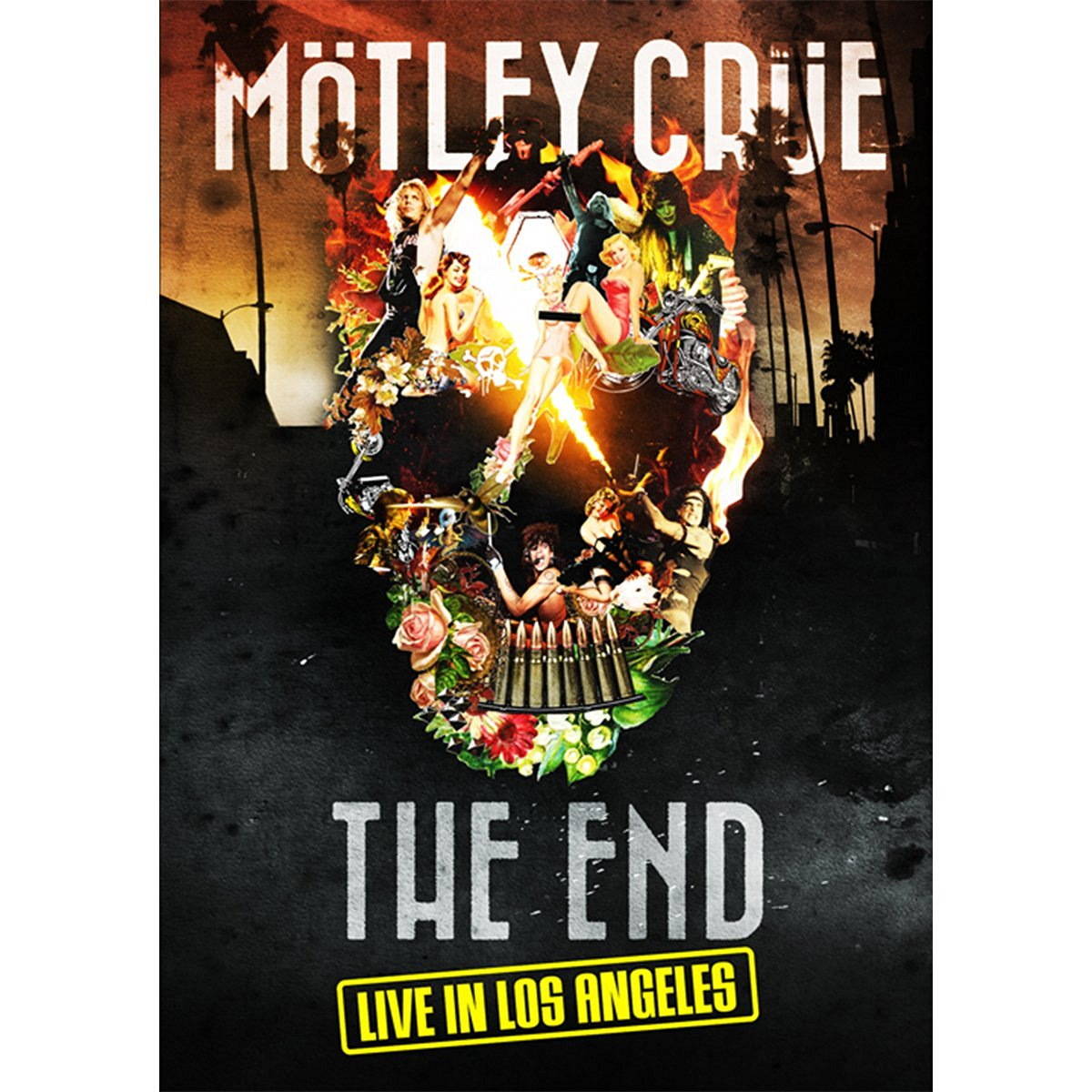 「THE END」ラスト・ライヴ・イン・ロサンゼルス 2015年12月31日+劇場公開ドキュメンタリー映画「THE END」【Blu-ray】 [ モトリー・クルー ]