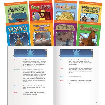 Reader's Theater: World Myths Set (Reader's Theater) READERS THEATER-8CY (Building Fluency Through Reader's Theater) [ Teacher Created Materials ]