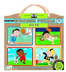 Green Start Play Ball Wood Puzzle