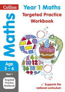 Collins Ks1 Revision and Practice - New Curriculum - Year 1 Maths Targeted Practice Workbook