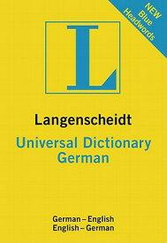 Langenscheidt Universal Dictionary: German GER/ENG-LANS UNIVERSAL DICT GE (Langenscheidt Universal Dictionary) [ Langenscheidt ]