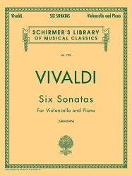 【輸入楽譜】ヴィヴァルディ, Antonio: 6つのチェロ・ソナタ F.XIV, N.1-6