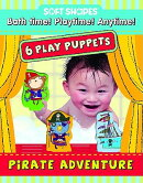 Soft Shapes Play Puppets Pirate Adventure