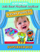 Soft Shapes Play Puppets Superheroes