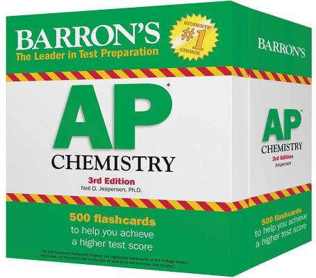 Barron's AP Chemistry Flash Cards BARRON AP CHEMISTRY FLASH CARD [ Neil D. Jespersen ]