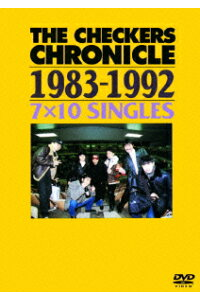 THECHECKERSCHRONICLE1983-19927×10SINGLES[チェッカーズ]