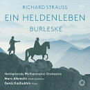 【輸入盤】『英雄の生涯』、ブルレスケ マルク・アルブレヒト&オランダ・フィル、デニス・コジュヒン