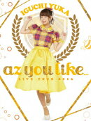 「2nd LIVE TOUR 2016 az you like...」LIVE DVD(初回仕様版)
