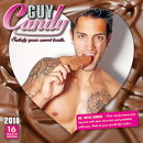 Guy Candy 2018 Wall Calendar: Satisfy Your Sweet Tooth