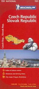 Michelin Czech Republic & Slovak Republic Road and Tourist Map