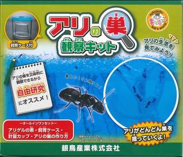 アリの巣観察キット ([教育用品])
