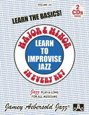 Jamey Aebersold Jazz -- Learn to Improvise Jazz -- Major & Minor in Every Key, Vol 24: Learn the Bas