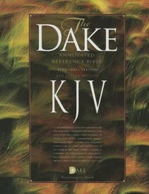 Dake Annotated Reference Bible-KJV B-KJ-DAK BUR [ Finis J. Dake ]