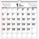 書き込み式シンプルカレンダー【A3変型】(2020年) ([カレンダー])