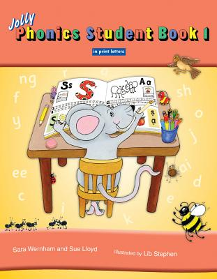 Jolly Phonics Student, Book 1 JOLLY PHONICS STUDENT BK 1 [ Sara Wernham ]