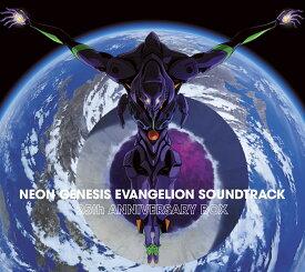 【楽天ブックス限定先着特典】NEON GENESIS EVANGELION SOUNDTRACK 25th ANNIVERSARY BOX (5CD) (ノート付き) [ (アニメーション) ]