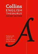 Collins Pocket - Collins English Thesaurus: Pocket Edition