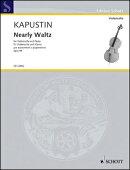 【輸入楽譜】カプースチン, Nikolai: ワルツ風に Op.98